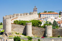 Avila. In Castile and Leon, Spain Stock Photo
