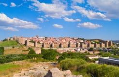 Avila antique, Espagne Photographie stock libre de droits