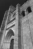 Avila Castiglia y Leon, Spagna: cattedrale Immagine Stock Libera da Diritti