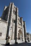 Avila Castilla y Leon, Spain: cathedral Stock Photography