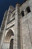 Avila Castilla y Leon, Spain: cathedral Royalty Free Stock Image