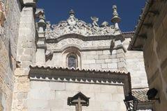 Avila Castilla y Leon, Spain: cathedral Stock Photos