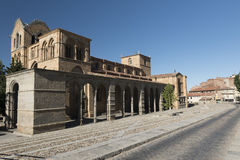 Avila Castilla y Leon, Spain: San Vicente church Royalty Free Stock Photography