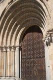 Avila Castilla y Leon, Spain: Santa Teresa church Royalty Free Stock Images