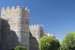 Avila Castilla y Leon, Spain: walls Stock Images