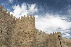 Avila Castilla y Leon, Spain: walls Stock Photography