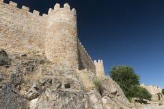 Avila Castilla y Leon, Spain: walls Royalty Free Stock Photo