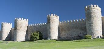 Avila Castilla y Leon, Spain: walls Stock Image