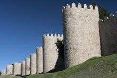 Avila Castilla y Leon, Spain: walls Royalty Free Stock Photography