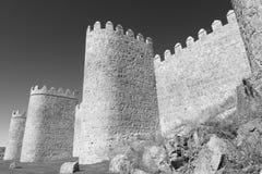 Avila Castilla y Leon, Spain: walls Royalty Free Stock Images