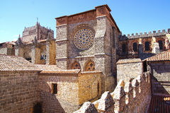 Free Avila Cathedral. Stock Photos - 48044563