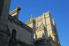 Avila cathedral Stock Photography