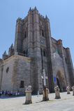 Avila cathedral Royalty Free Stock Photos