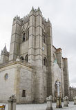 Avila Cathedral, Spain Royalty Free Stock Photography