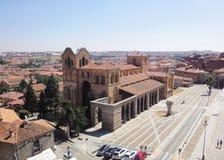 Avila Church, Spain Stock Photo