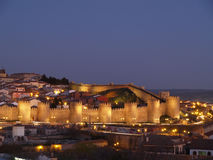 Avila city, Spain. UNESCO monument. Royalty Free Stock Images
