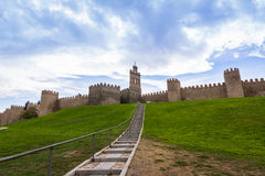 Puerta del carmen, Avila, Spain. Puerta del carmen, Avila, fortified city in Spain Stock Photography