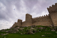 Avila fortress walls Royalty Free Stock Images