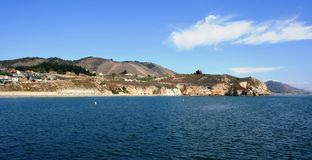Avila-Küstenlinie stockbild