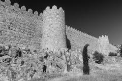 Avila Kastilien y Leon, Spanien: Wände Lizenzfreie Stockfotografie