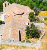 Avila-Kirche Spanien Stockfotografie