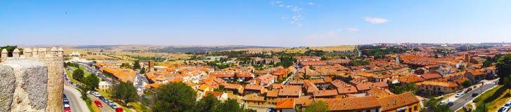 Avila-Landschaft Spanien Stockfotos