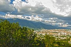 The avila caracas landscape Royalty Free Stock Image