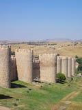 Avila Medieval Wall  Spain Royalty Free Stock Photo