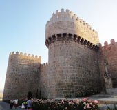 Avila Medieval Wall, Spain Stock Image