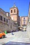 Avila, pejzaż miejski Obraz Royalty Free
