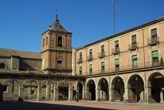 Avila Plaza Mayor 01 Stock Photography