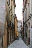 Avila slikt het Oude Middeleeuwse Kasteel van Stadsmuren Castilla Spanje E r stock foto