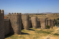 Avila - Spain Royalty Free Stock Photo