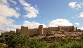 Avila in Spain Royalty Free Stock Photo