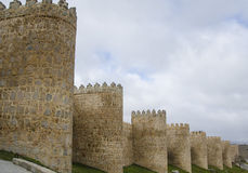 Avila , Spain Royalty Free Stock Photos