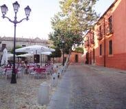 Avila terraces Spain Stock Photos