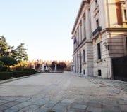 Avila stadhuis, Spanje stock afbeelding