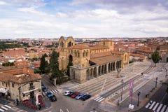 Avila stadsmening, Spanje Royalty-vrije Stock Fotografie