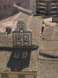 Avila view from the Muralla. Avila view detail of roofs from the Muralla Royalty Free Stock Photo