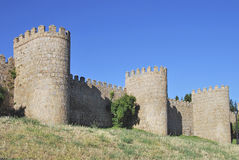 Avila wall Royalty Free Stock Photography