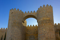 Avila walls Royalty Free Stock Photo