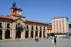Aviles. Spain Royalty Free Stock Photography