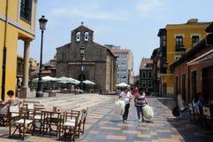 Aviles - Spain Stock Photo