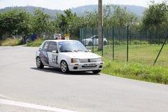 34 Rally de  Aviles Historicos stock photo
