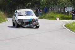 34 Rally de  Aviles Historicos stock photography
