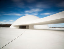 Niemeyer Center building, in Aviles, Spain Stock Photos