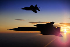 Avión de espía del mirlo SR-71 Fotografía de archivo