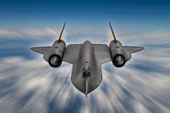 Avión de espía del mirlo SR-71 Imagenes de archivo
