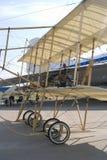 Avión del vintage en el salón aeroespacial internacional de MAKS Foto de archivo
