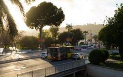 Avinguda de Gabriel Roca royalty free stock image